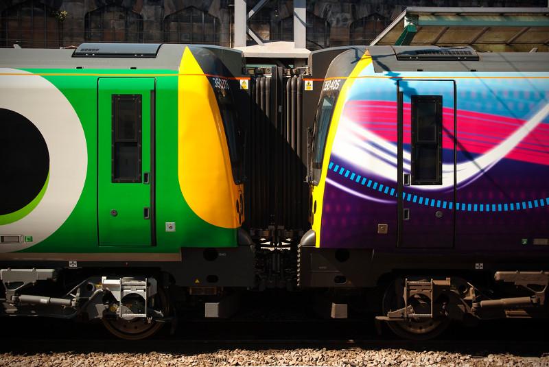 Поезда в Англии -2