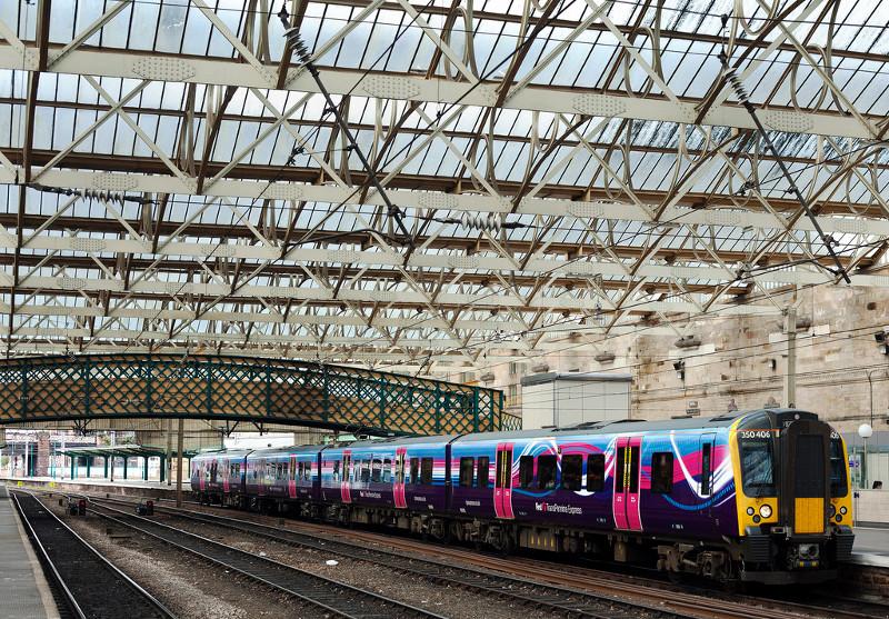 Поезда в Англии -1