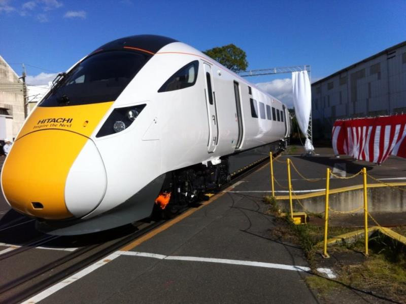 Поезда в Англии -6