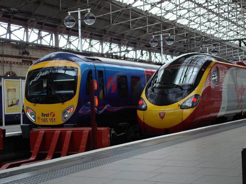 Поезда в Англии -9