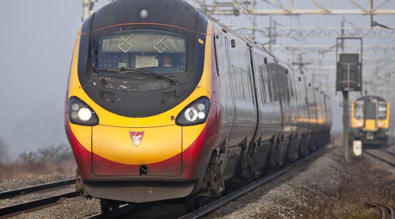Поезда в Англии -5