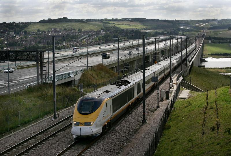 Поезда в Англии -8